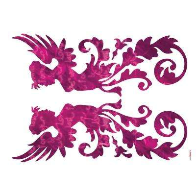 28 in. x 36 in. Fantasy Wall Decal