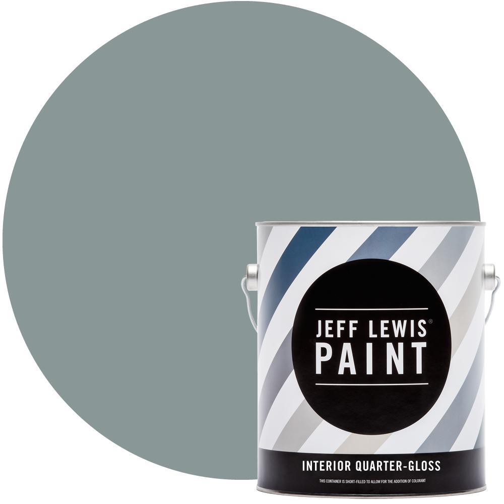 Jeff Lewis 1 gal. #515 Mojito Quarter-Gloss Interior Paint