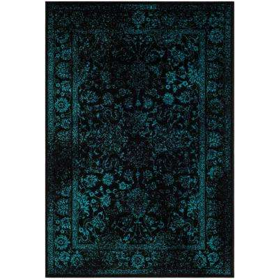 Safavieh 6 X 9 Black Area Rugs Rugs The Home Depot