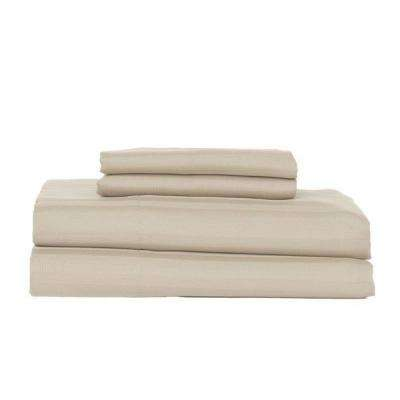 Ash 410-Thread Count Cotton Rich Stripe Sateen Queen Sheet Set