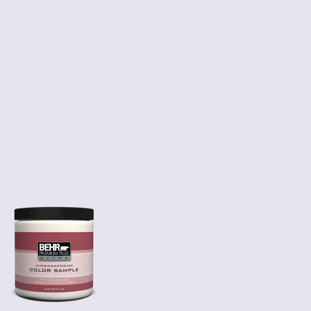 BEHR Premium Plus Ultra 8 oz. #630E-1 Dreamy Cloud Interior/Exterior Paint Sample
