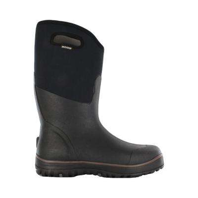 Classic Ultra High Men 15 in. Size 16 Black Rubber with Neoprene Waterproof Boot