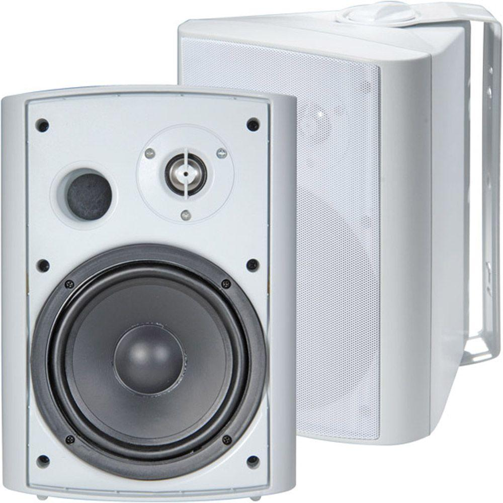 TIC 6 1/2 in. 120-Watt 2-Way Outdoor Patio Speaker-ASP-120W - The ...
