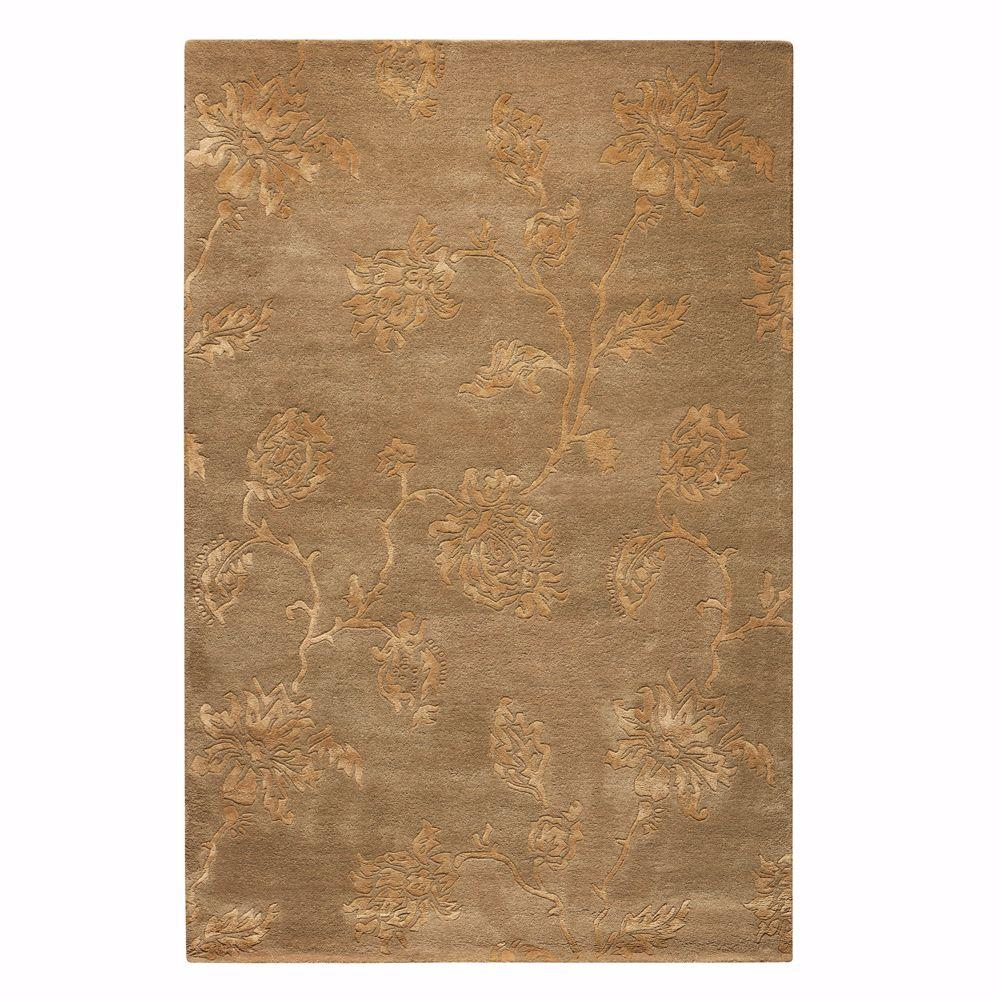 Home Decorators Collection Lancaster Beige 5 ft. 3 in. x 8 ft. 3 in. Area Rug