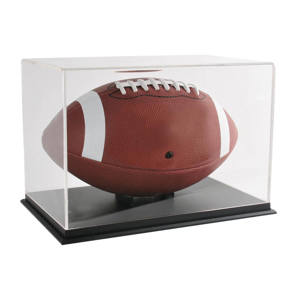 Pinnacle Snap Football Display Case Frame 13fp1006 The Home Depot