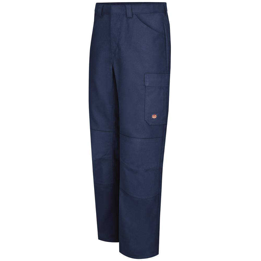 Men's 36 in. x 34 in. Navy Shop Pant
