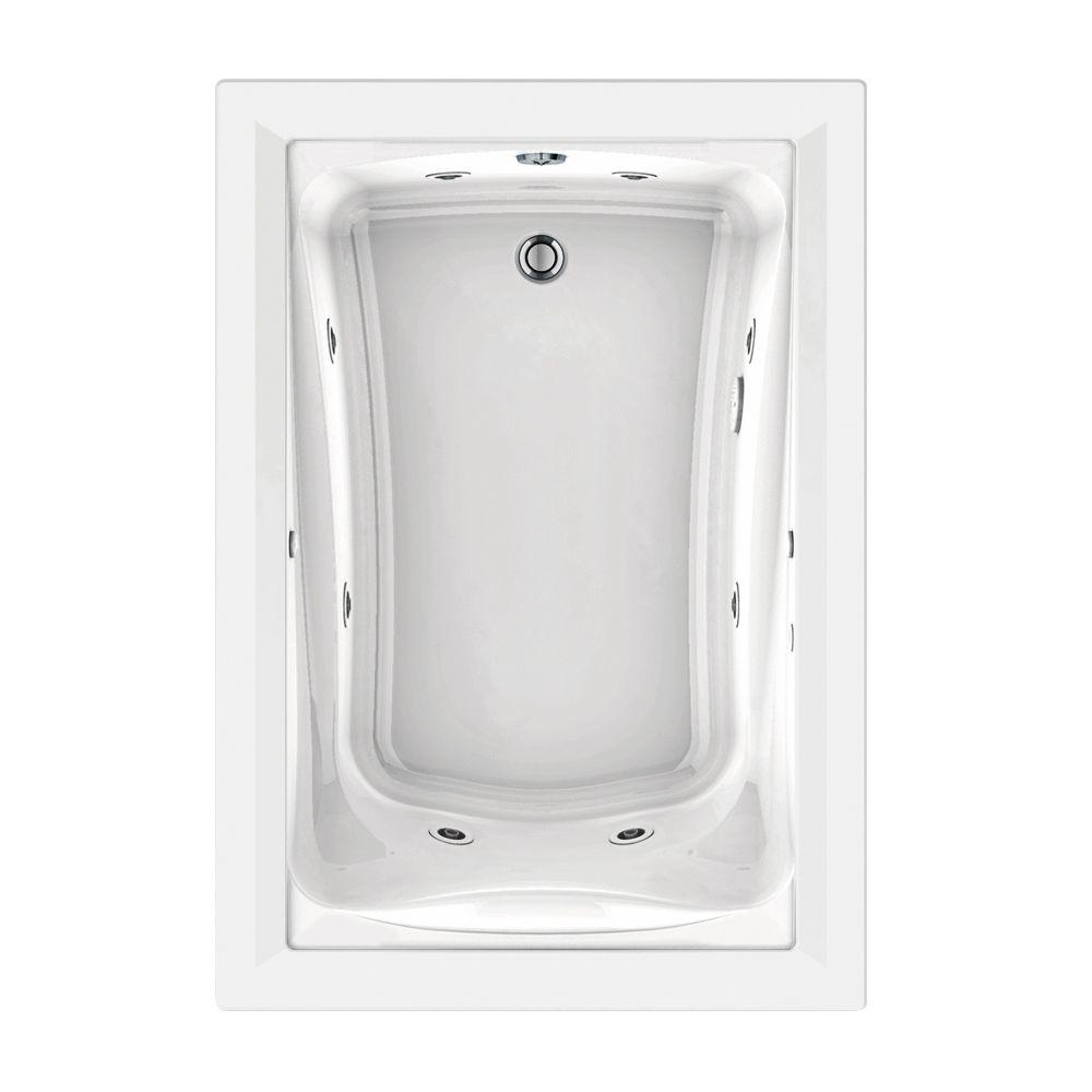 Jetted-Whirlpool - Drop-in Bathtubs - Bathtubs - The Home Depot