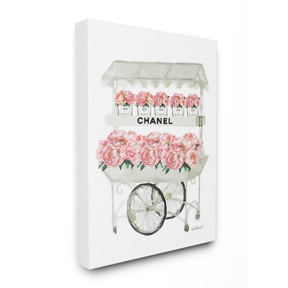 "16 in. x 20 in. ""Fashion Flower Stand"" by Amanda Greenwood"