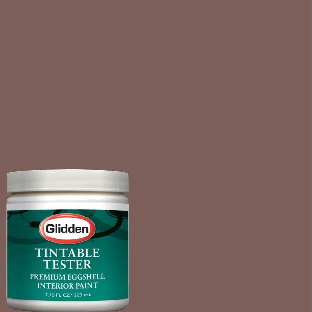 Glidden Premium 8-oz. Aged Teak Interior Paint Tester