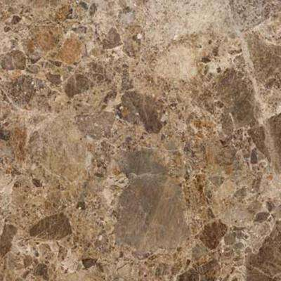 4 in. x 4 in. Stone Effects Vanity Top Sample in River Rock