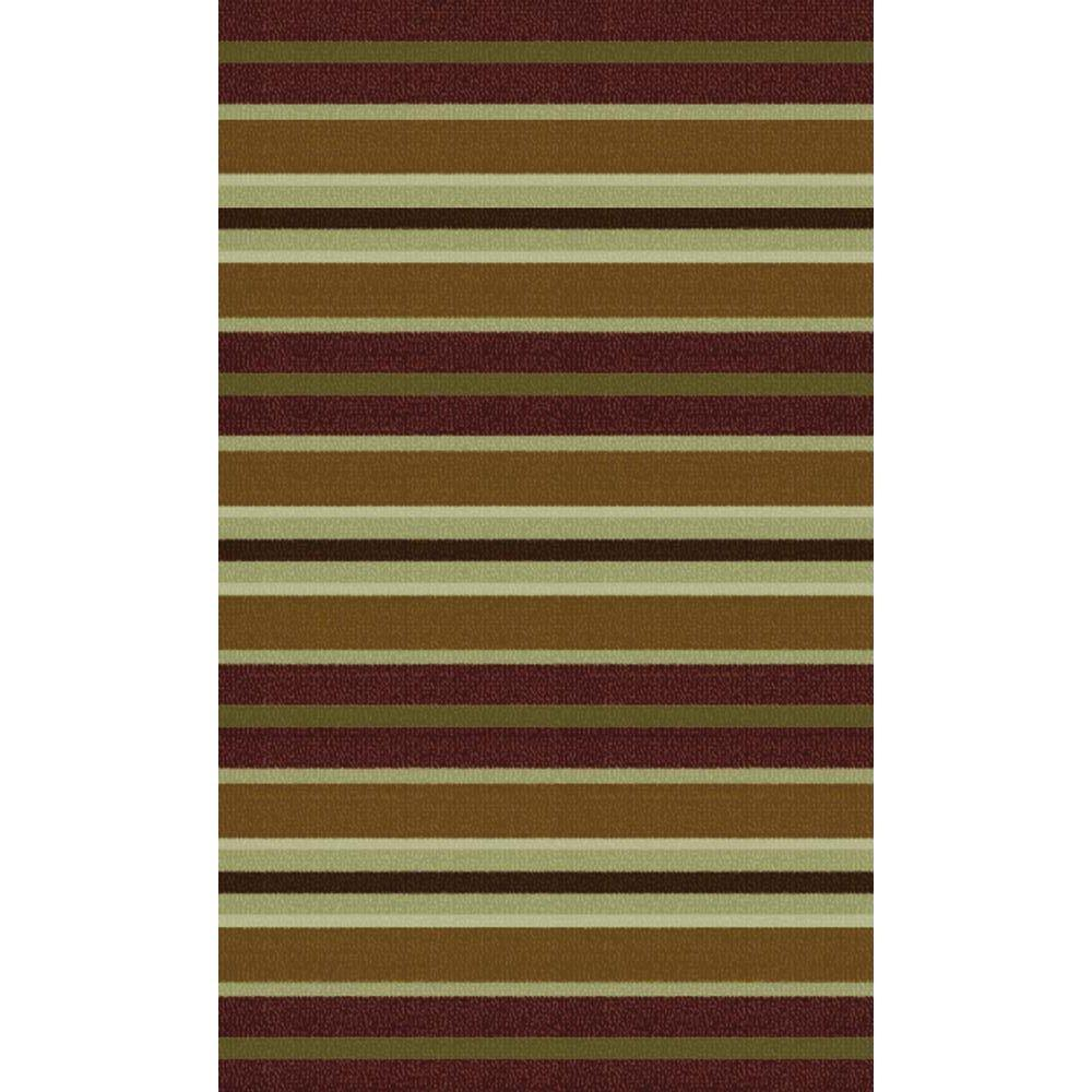 Reviews For Trafficmaster Discovery Bordeaux Multi 2 Ft X 4 Ft Area Rug Mt1002121us The Home Depot