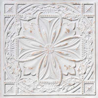 Milan 2 ft. x 2 ft. PVC Glue-up or Lay-in Ceiling Tile in Antique Taupe