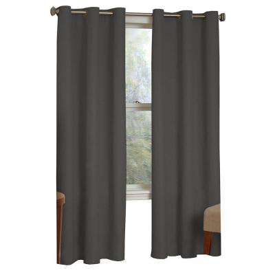 Microfiber Blackout Grommet Curtain Panel