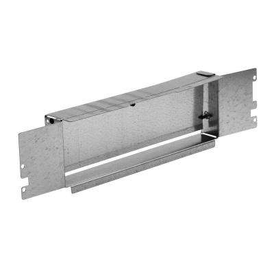 3-1/4 in. x 14 in. to 3-1/4 in. x 10 in. Galvanized Steel Duct Adapter