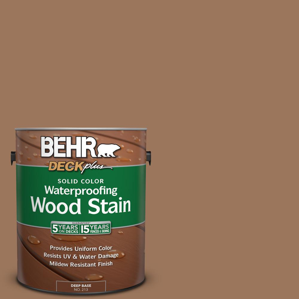 S220 6 Baked Sienna Solid Color Waterproofing Exterior Wood