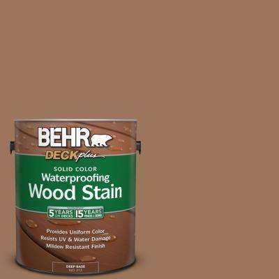 1 gal. #S220-6 Baked Sienna Solid Color Waterproofing Wood Stain