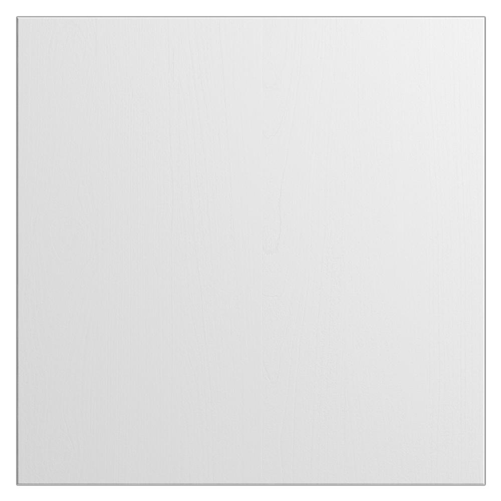 WeatherStrong 12x12 in. Cabinet Door Sample in Miami Radiant White