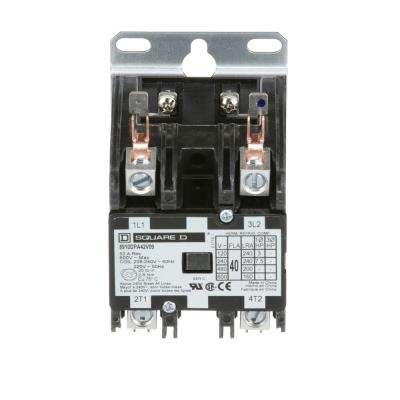 40 Amp 208/240-Volt AC 2 Pole Definite Purpose Contactor (20-Pack)