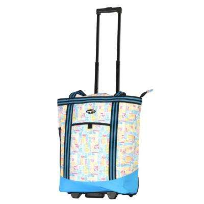 Cooler Buddy Insulated 2-Piece Blue Shopper Tote