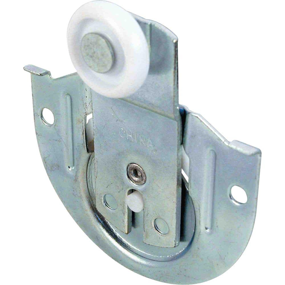 Prime Line 1/8 In. Offset Sliding Wardrobe Front Door Roller Assemblies (