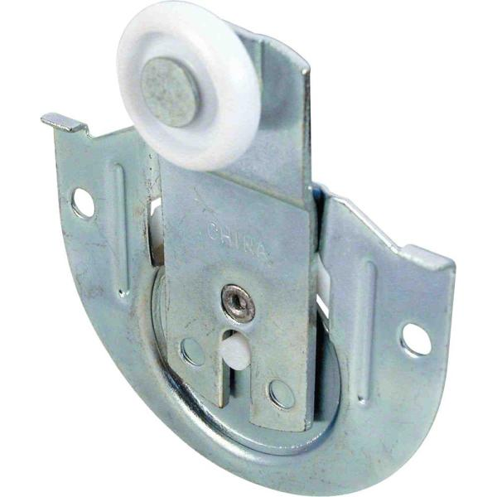 Prime Line Closet Door Roller Front 1 8 In Offset 7 8 In Nylon Wheel 2 Pack N 6648 The Home Depot