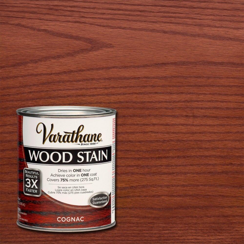 Varathane 1 qt. 3X Cognac Premium Wood Interior Stain (Case of 2)