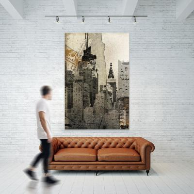 """54 in. x 84 in. """"New York Local"""" by Irena Orlov Wall Art"""
