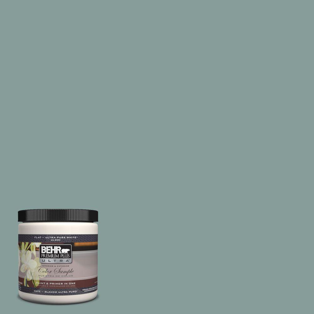 BEHR Premium Plus Ultra 8 oz. #UL220-18 Agave Interior/Exterior Paint Sample