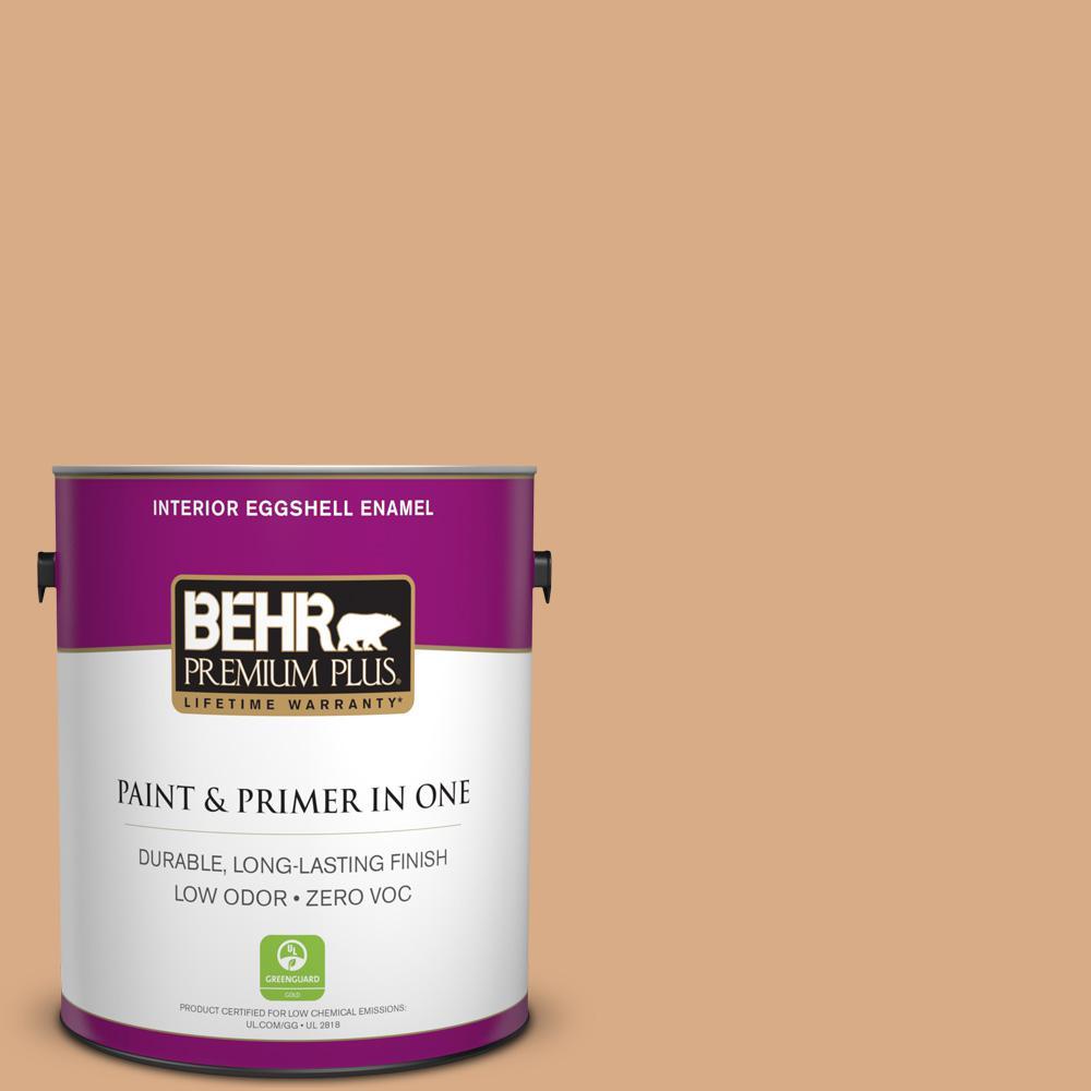 1-gal. #BXC-67 Santa Fe Tan Eggshell Enamel Interior Paint