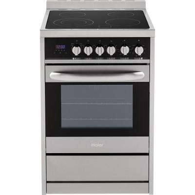 24 in. 2.0 cu. ft. Single Oven Electric Range in Stainless Steel
