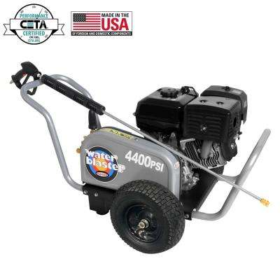WaterBlaster 4400 PSI at 4.0 GPM SIMPSON 420 with AAA Industrial Triplex Pump Industrial Gas Pressure Washer