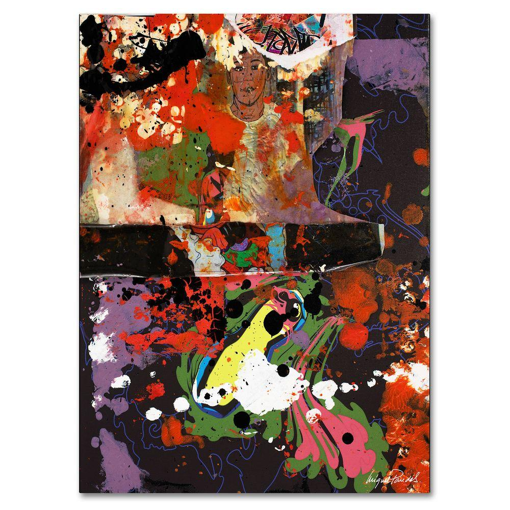 24 in. x 32 in. Urban Collage IV Canvas Art
