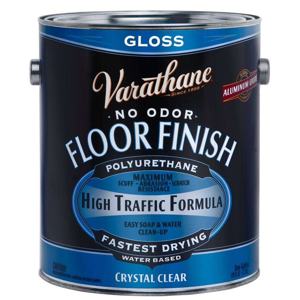 1-gal. Clear Gloss Water-Based Floor Polyurethane