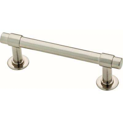 Essentials Francisco 3 in. (76mm) Center-to-Center Satin Nickel Drawer Pull (10-Pack)
