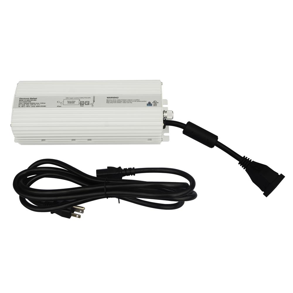 400-Watt Digital Dimmable Ballast 120/240-Volt for Grow Lights