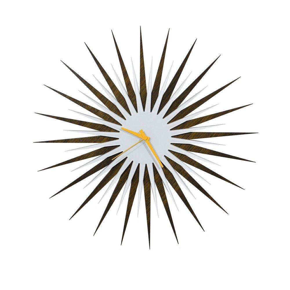 Filament Design Brevium 23 in. x 23 in. Modern Wall Clock