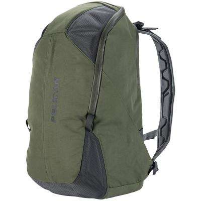 24.41 in. Green Lightweight Backpack with Water-Resistance