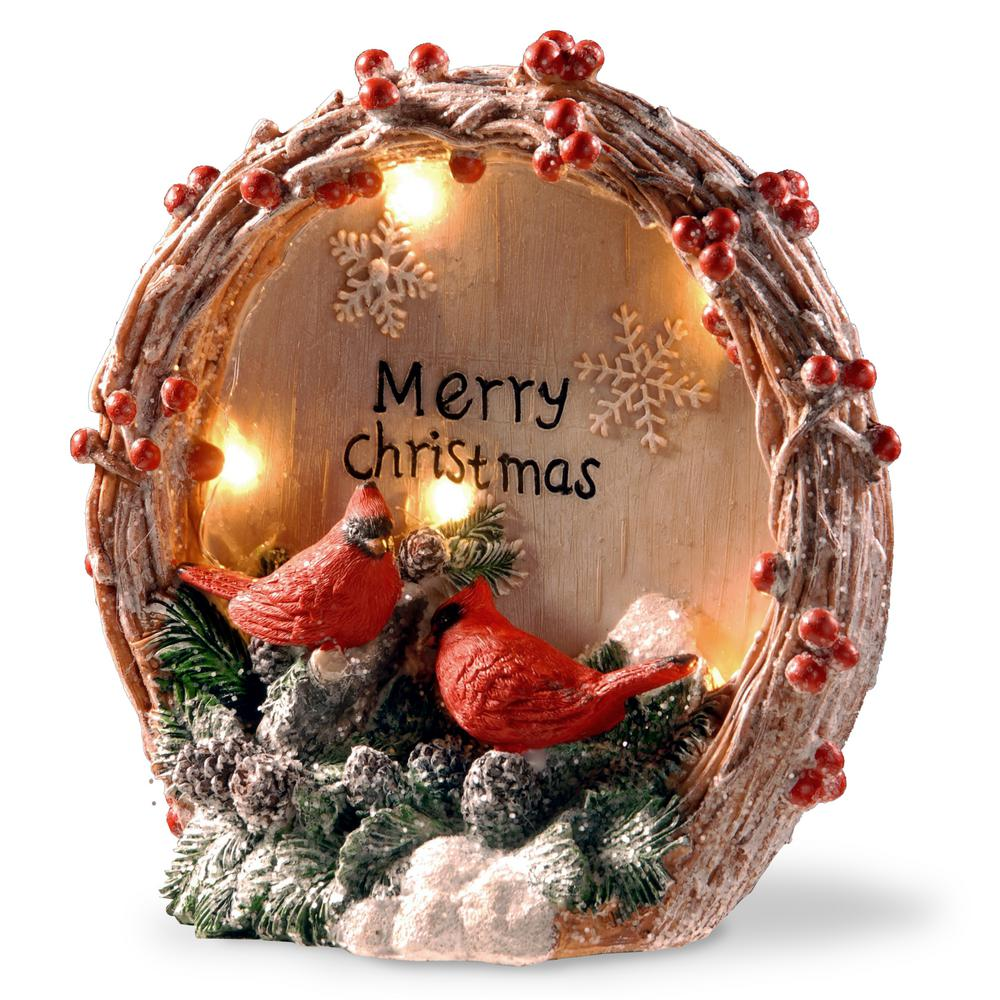 National Tree Company 9 In Lighted Christmas Decor Piece