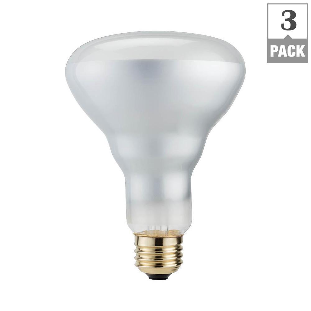 Philips 50 watt mr16 halogen dimmable flood light bulb 3 pack 65 watt equivalent br30 halogen dimmable flood light bulb 3 pack arubaitofo Images