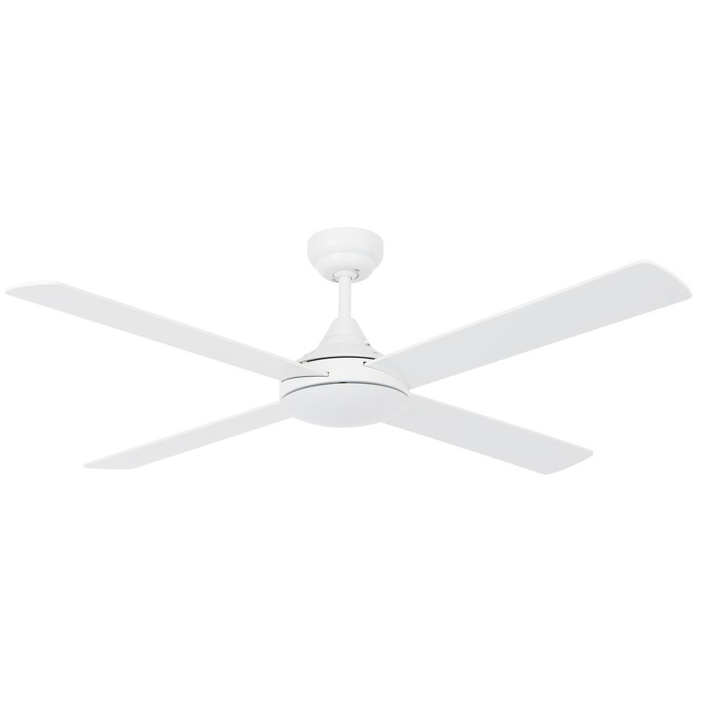Lucci Air Airlie II White 52 in. with Remote Ceiling Fan