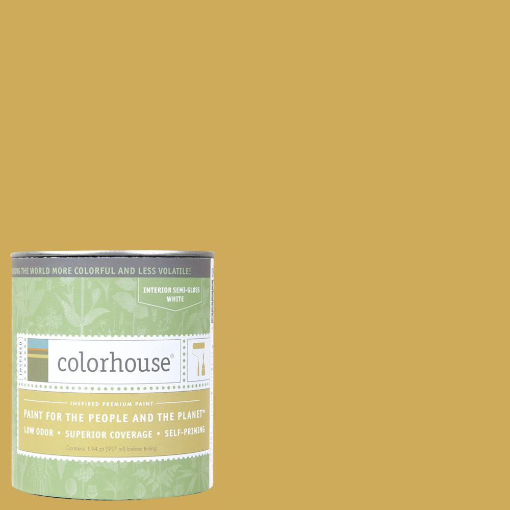 1 qt. Beeswax .03 Semi-Gloss Interior Paint