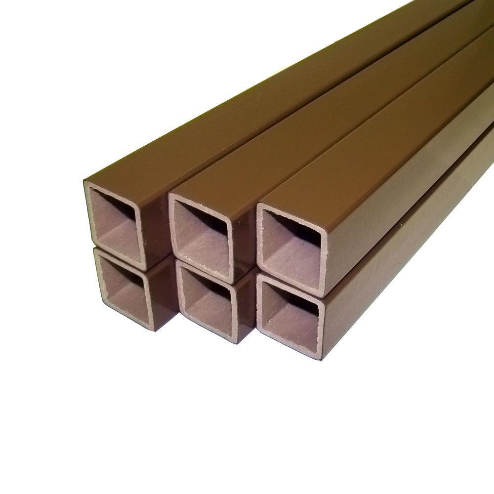Veranda 1-1/2 in. x 33.5 in. PVC/Composite Bronze Baluster Kit (6-Pack)