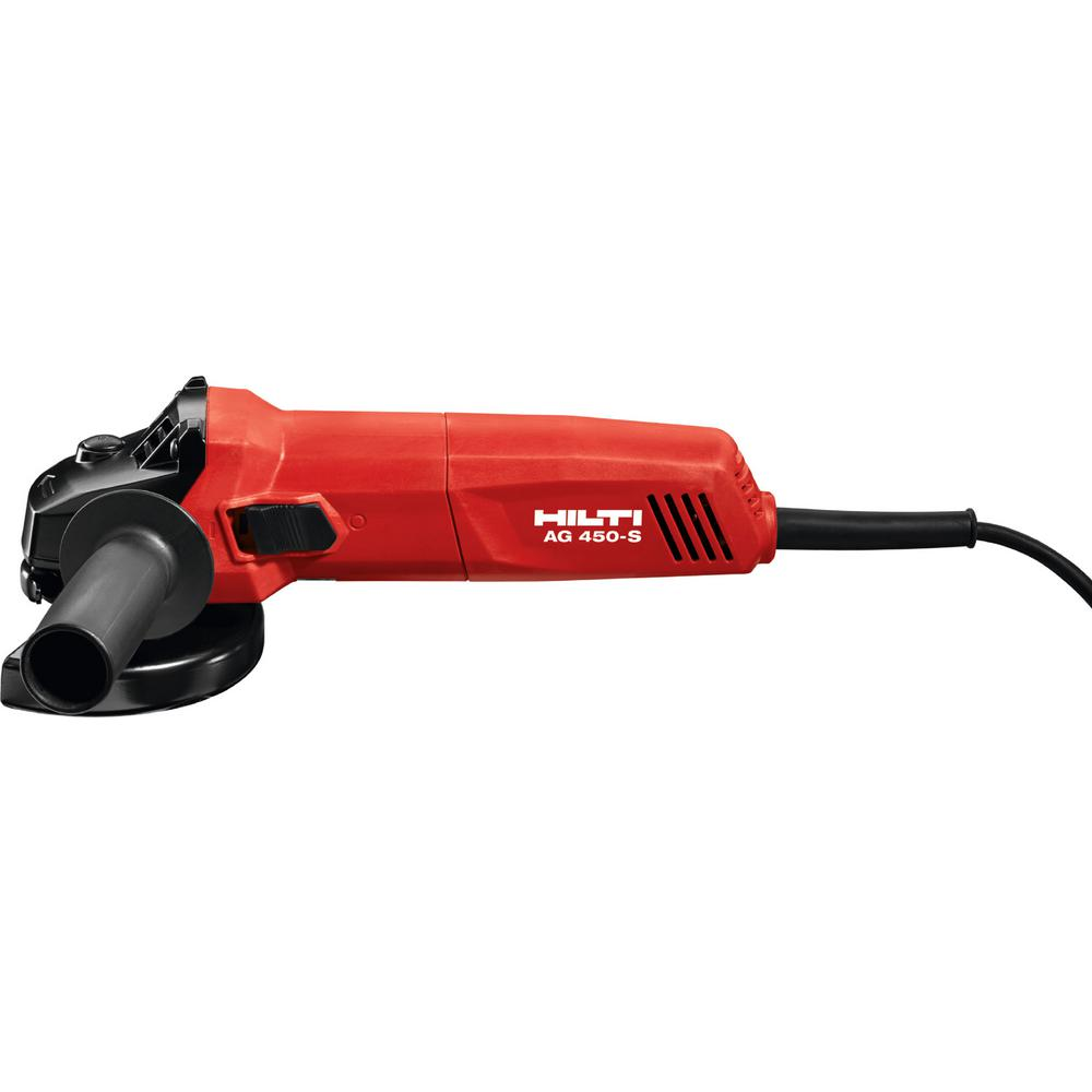 Hilti AG 450-S 7 Amp 4-1/2 in. Angle Grinder-2075613 - The Home Depot