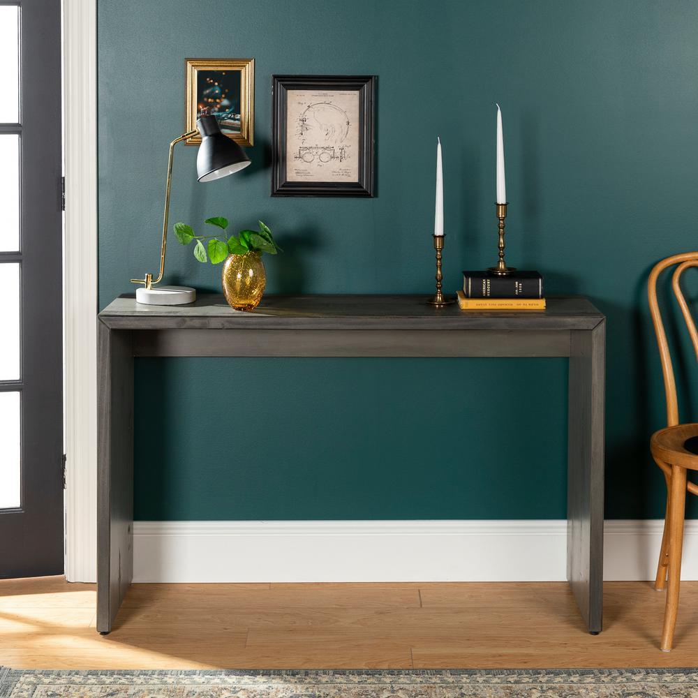 Home Furniture Company: Walker Edison Furniture Company 48 In. Gray Solid