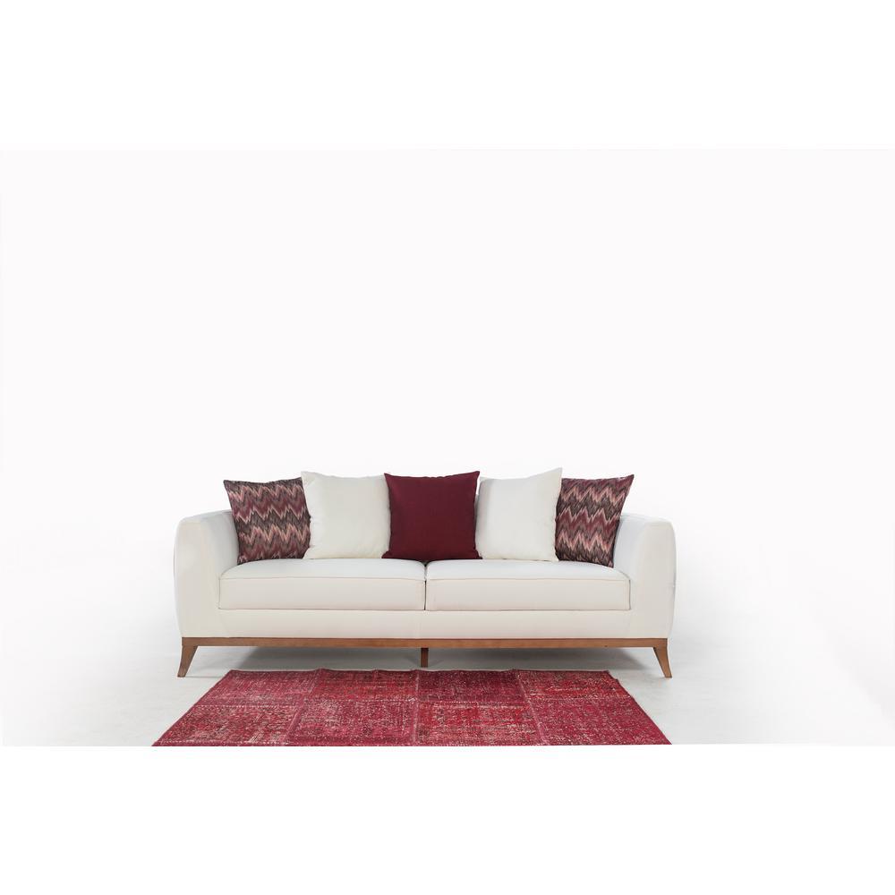 Barcelona White Sofa