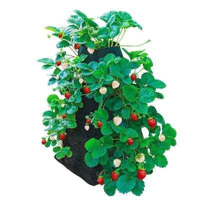 3.50 Gal. Capacity Fabric Geo Textile Strawberry Growing Tower
