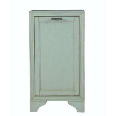 Hazelton 18 in. W Tilt-Out Hamper in Antique Green
