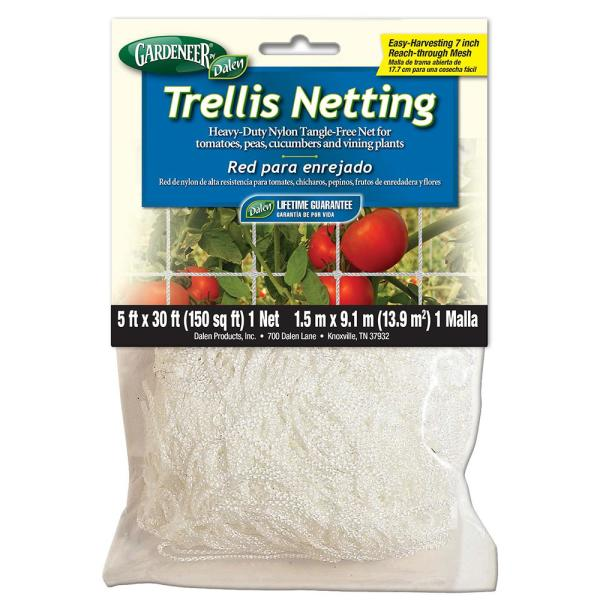 5 ft. x 30 ft. Dalen Products Nylon Trellis Netting