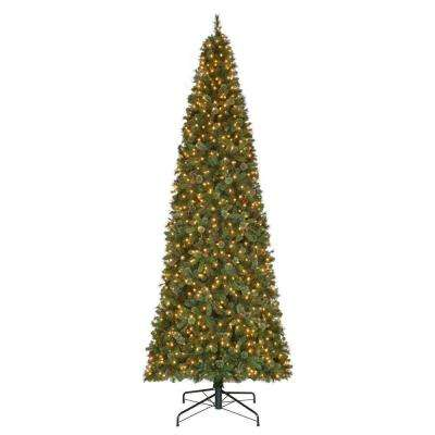 15 ft. Pre-Lit LED Alexander Pine Artificial Christmas Tree x 5250 Tips with 1450 Indoor Low Voltage Warm White Lights