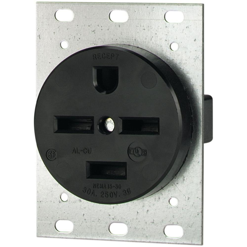 120Volt 30Amp RV Power Outlet with Breaker at Menards - akross.info
